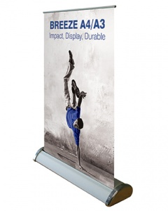 Breeze - Desktop roller display