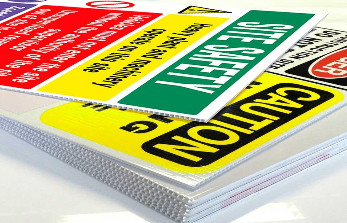 Correx Sign Printing