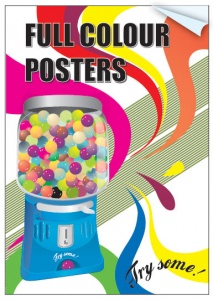 Poster printing-Indoor use